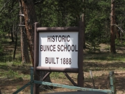 bunce_school_road_sign