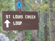 st_louis_creek_loop_sign