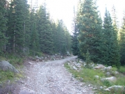 climb_to_chinns_lake