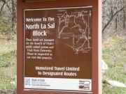 north_la_sal_block_sign
