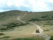 monica_starts_up_the_big_hill