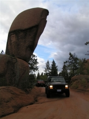 julie_under_balanced_rock