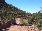 mike_s_on_porcupine_rim_and_roger_on_porcupine_4x4_trail