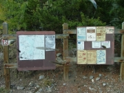 three_island_lake_trail_signs