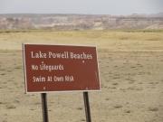 lake_powell_beaches_sign