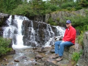 bob_r_at_sneffels_creek_waterfall